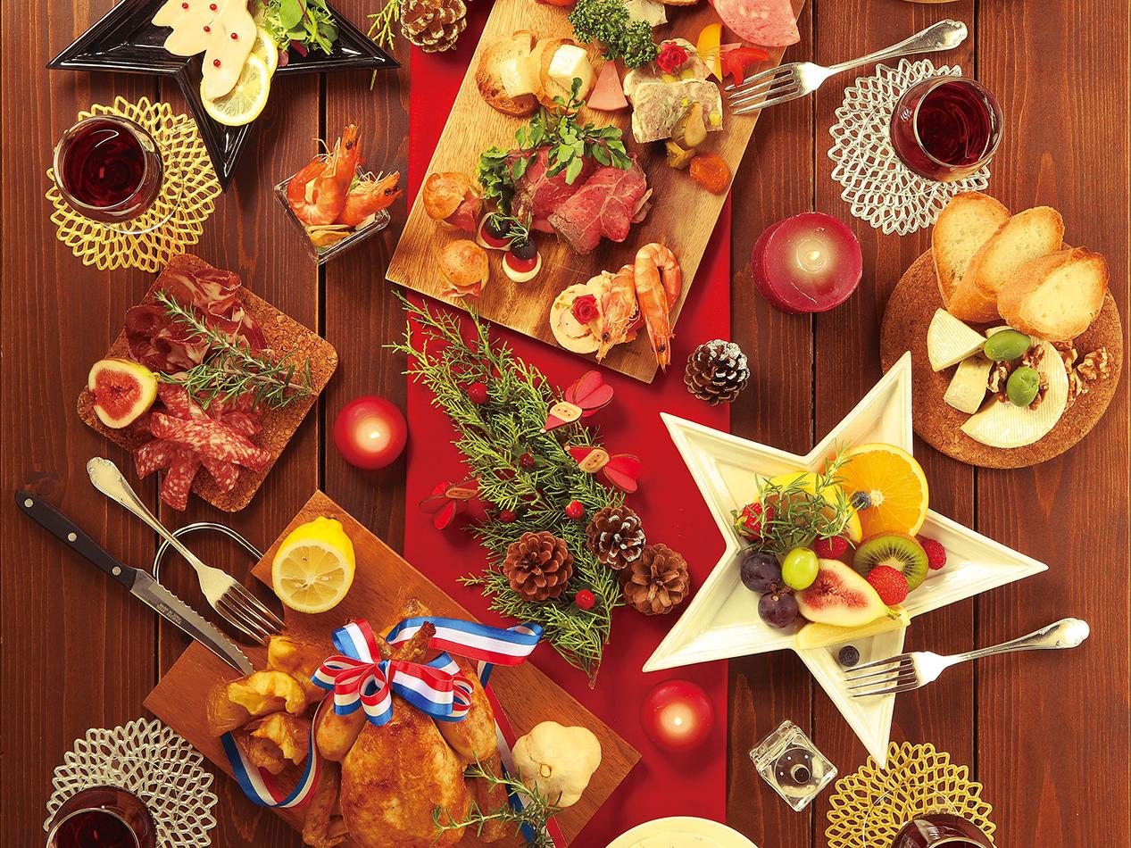 クリスマス 持ち寄り パーティー 簡単 手作り 料理 盛り 上げよう