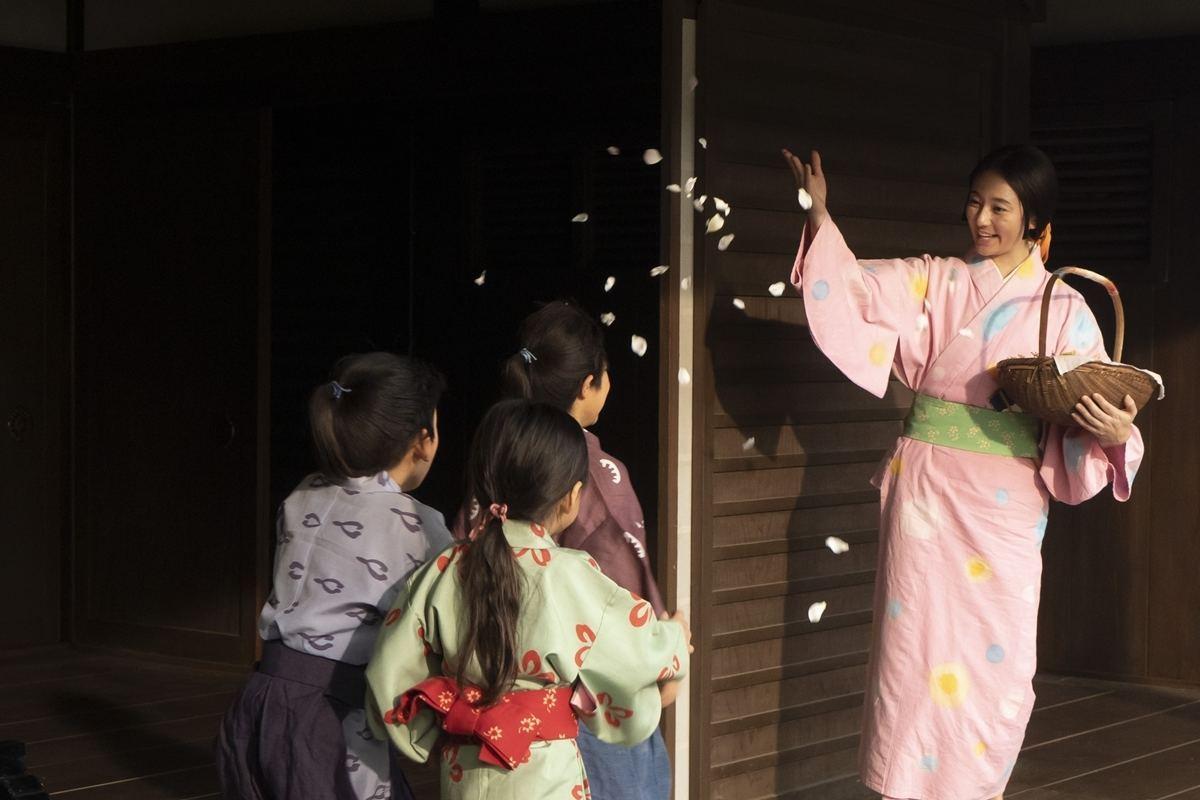 木村文乃 桜色 着物 姿 可愛すぎる 話題 画像 アリ 麒麟がくる 煕子 役
